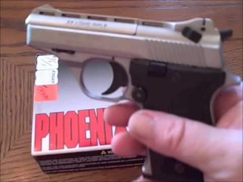 Phoenix Arms HP22A review & shooting