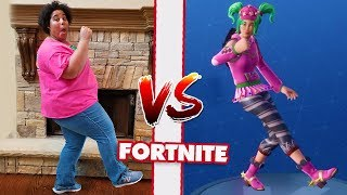 MOM VS DAD FORTNITE DANCE CHALLENGE PART 2! All NEW Dances SEASON 4!