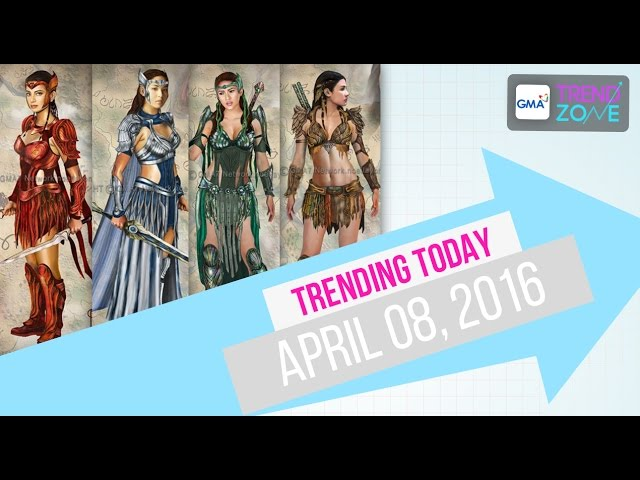 Trendzone - April 8, 2016