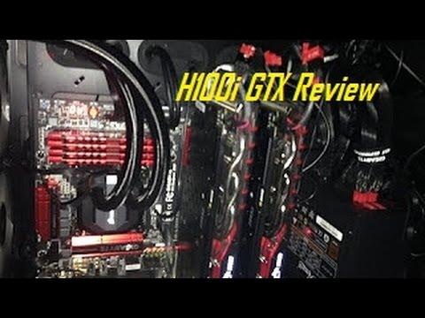 Corsair Hydro Series H100i GTX Liquid CPU Cooler Review