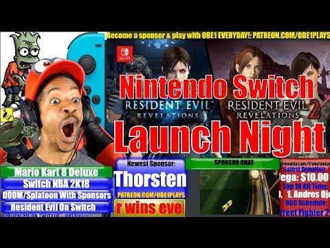 Resident Evil Revelations 1 & 2 Nintendo Switch Launch Night