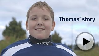 First Time in Net: Thomas