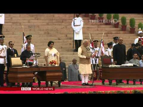 Narendra Modi Sworn in as 15th Prime Minister of India