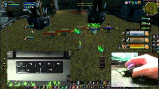 World of Warcraft Swifty Nonclicker ft. Razer Naga / Razer Anansi (WoW Gameplay/Commentary)