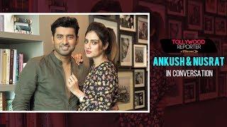 Ankush & Nusrat In Conversation | Bolo Dugga Maiki | Ankush | Nusrat| Tollywood Reporter