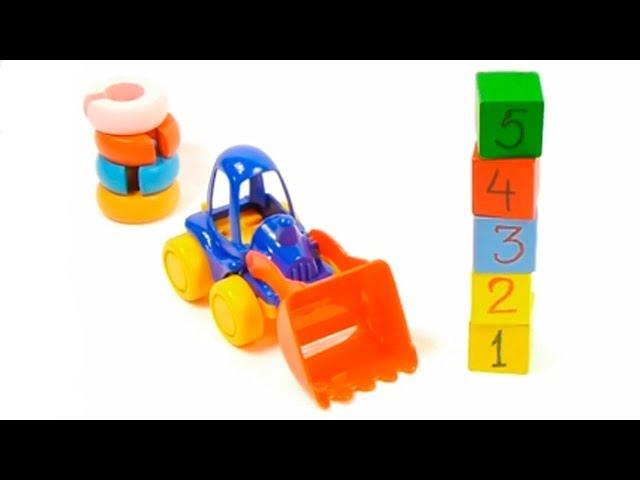 Трактор игрушка-Комбайн игрушка/toy tractor-harvester toy