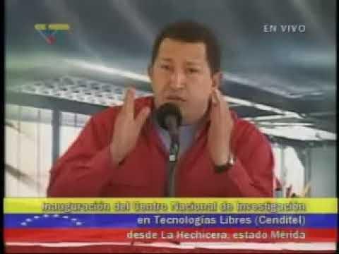 Presidente Chávez sobre el Software Libre (4)