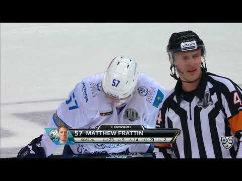 Первый хет-трик Фрэттина в КХЛ