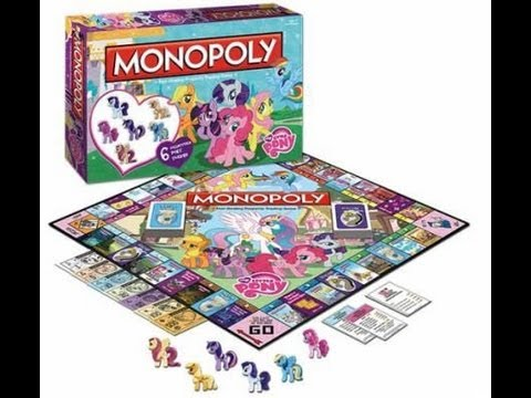 Monopoly My Little Pony Edition – Opening/Review