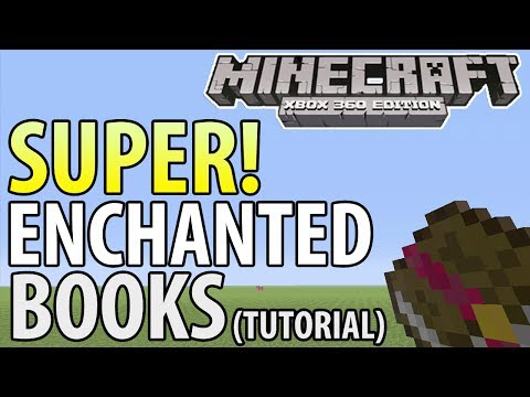 Minecraft (Xbox 360/PS3) - TU14 UPDATE! - SUPER ENCHANTED BOOKS - TUTORIAL (Guide)