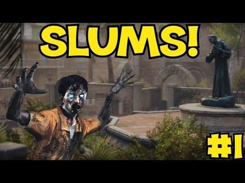 """ISN'T THIS IN BLACK OPS 2?!"" - Custom Zombies ""SLUMS"" PART 1 (CoD WaW Custom Zombies)"