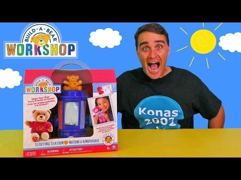 Build A Bear Workshop Stuffing Station !    Toy Reviews    Konas2002