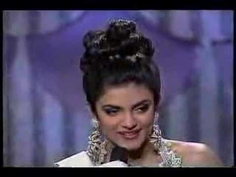 Miss Universe 1994 - Sushmita Sen (india) video