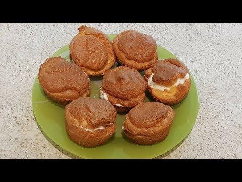 Рецепт: диетические эклеры из изолята протеина без муки, без жира, без сахара, без крахмала