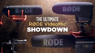 Best Video Microphone? The Ultimate RODE VideoMic Showdown!