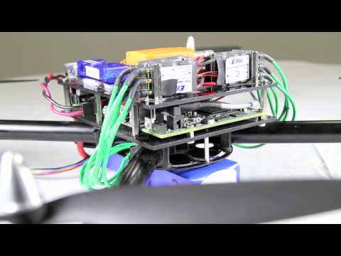 PID-Controlled Quadcopter using NI LabVIEW and Single-Board RIO