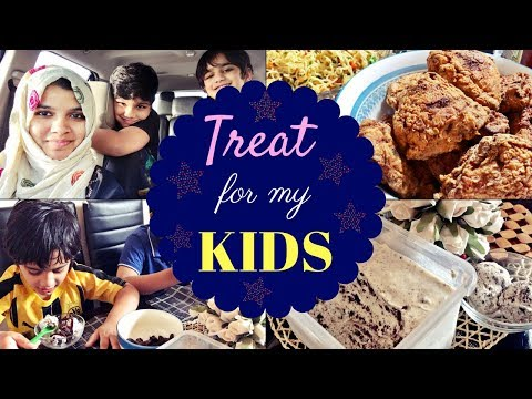 Mommy treat for kids  Family weekend Vlog  What i made for my kids