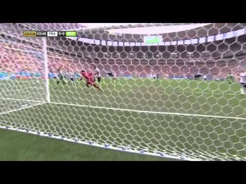 FIFA World Cup 2014 -  France vs  Nigeria Highlights   (BBC)
