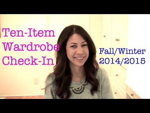 Ten-Item Wardrobe Check-In Winter 2015