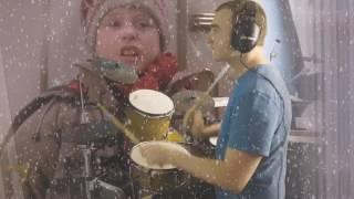 🎶 Christmas Special: Home Alone - Setting the Trap - Drum Cover (DrummerMattUK)