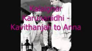 Kalaignar Karunanidhi Kavithanjali to Annampeg2vid