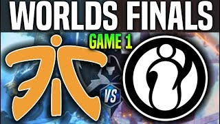 FNC vs IG Game 1 - Worlds 2018 Finals | Fnatic vs Invictus Gaming G1 - Worlds 2018 Final