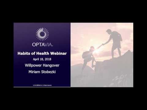 Habits of Health Zoom Call: Willpower Hangover