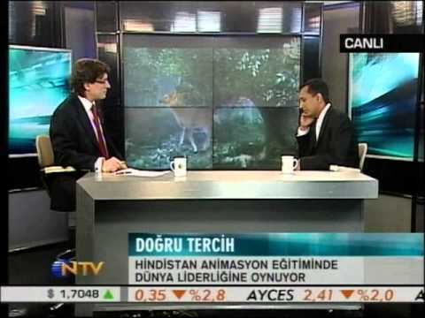 Interview in Turkey National Television in HD