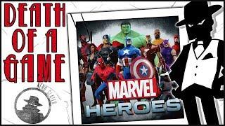 Death of a Game: Marvel Heroes (Marvel Universe Online)