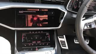 2019 Audi A7 4K VIM MMI 3G Plus + Video In Motion Activation Coding