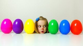 Ulya ordered color eggs for brother