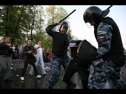 Как разбегались провокаторы на Болотной площади 6 мая (Протестное движение в России 2011 - 2013)