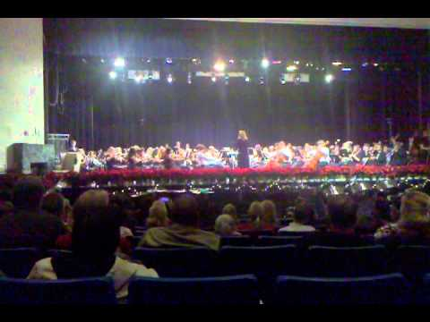 Manchester High School Band and Orchestra 2010  Holiday Concert -Frosty the snowman