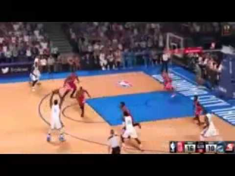 NBA 2K15 Xbox 360 Milwaukee Bucks vs Washington Wizards with Music