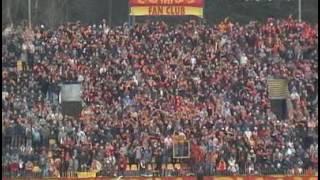 Jagiellonia - Arka Gdynia 2:2 XVII kolejka II ligi 2004/2005 - trybuny