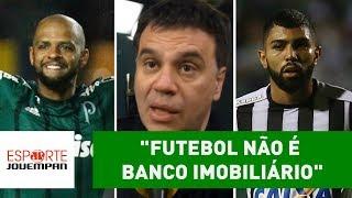 """Beting desabafa após Palmeiras x Santos: """"futebol não é Banco Imobiliário"""""""