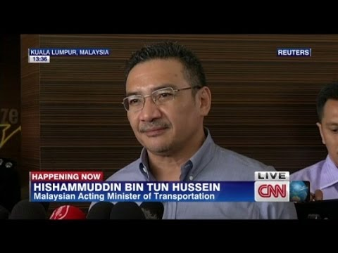 Missing flight MH370 Hussein press conference