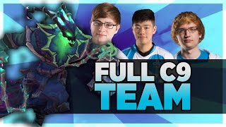 THE C9 DREAM TEAM | JENSEN AND IMPACT ARE SCRIPTING??? | BunnyFuFuu