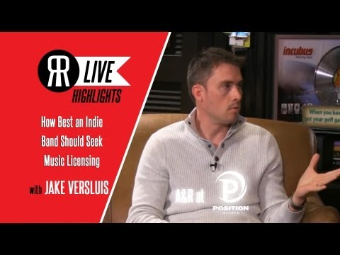 How Best an Indie Band Should Seek Out Music Licensing with Jake Versluis