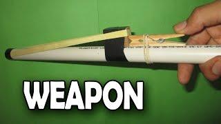 Como Hacer Un Arma Casera facil y Muy Potente
