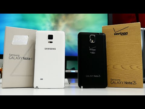 Samsung Galaxy Note 4 vs Galaxy Note 3 - Ultimate Comparison!