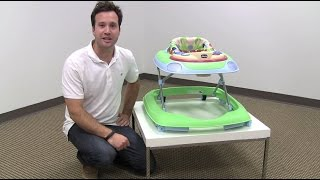 Chicco Lil' Piano DJ Baby Walker Review by zSeek