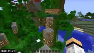"Minecraft: Speedrun - ""Sprint Jungle Parkour Map"" by Xevis69521"