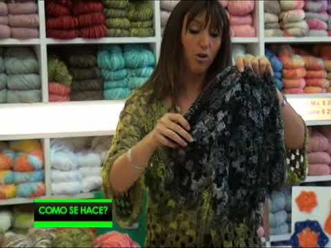 Saco hexágono en crochet