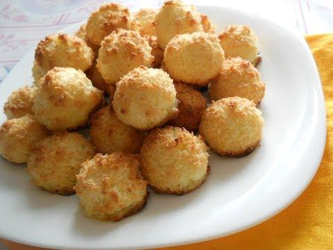 Печенье из трех ингредиентов - без муки! Кокосанка