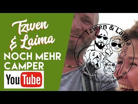 Tzwen & Laima in Die Besten YouTube-Kanäle für Camper und Wohnmobil - Fans - #2