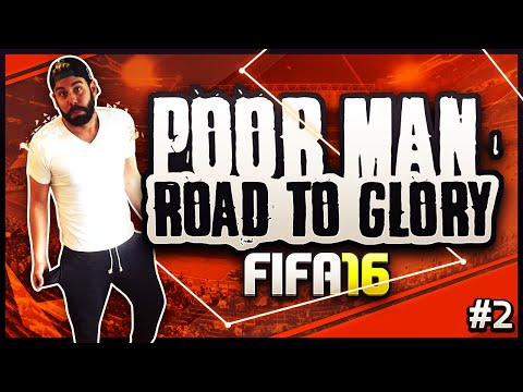 FIFA 16 - POOR MAN RTG #2 - ONLINE GAMES AND SQUAD BUILDING -  ULTIMATE TEAM