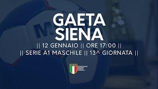 Serie A1M [13^]: Gaeta - Siena 23-31