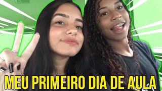 MEU 1º DIA DE AULA NO ENSINO MÉDIO! *vlog*