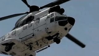 Aerospatiale AS-332B1 Super Puma (Slow Motion)